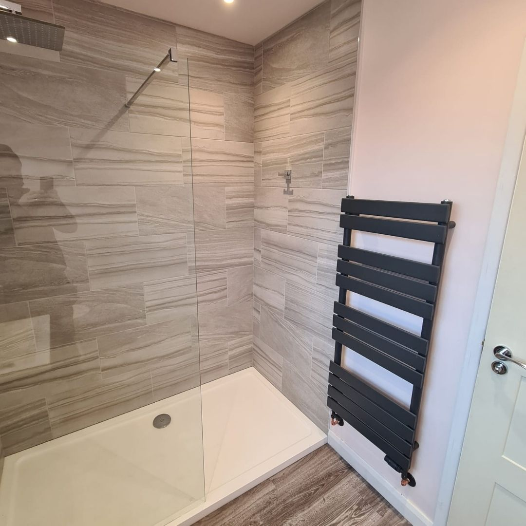 shower and radiator fitting