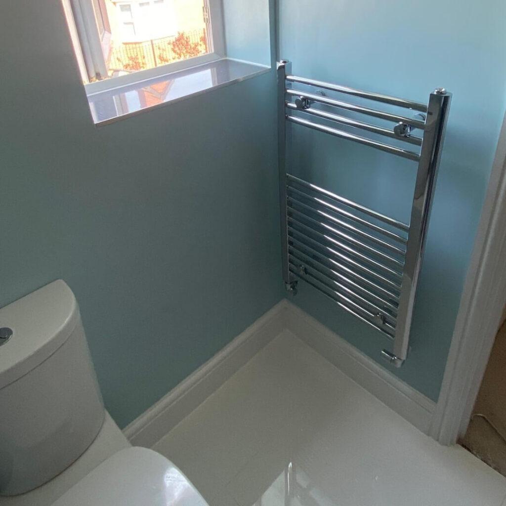 bathroom radiator fitting
